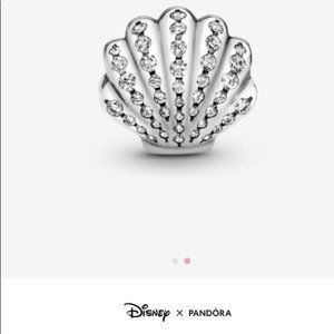 New Pandora Disney the Little Mermaid Seashell